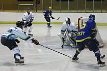 Hokejisté Blanska porazili Břeclav B v samostatných nájezdech.