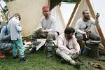 Starou huť u Adamova obsadili Slované. Tavili rudu a hasili vápno.