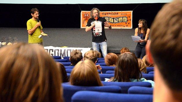 Dělnický dům v Blansku a tamní kino ovládl Rajbas. Festival filmů, setkání a dobrodružství.