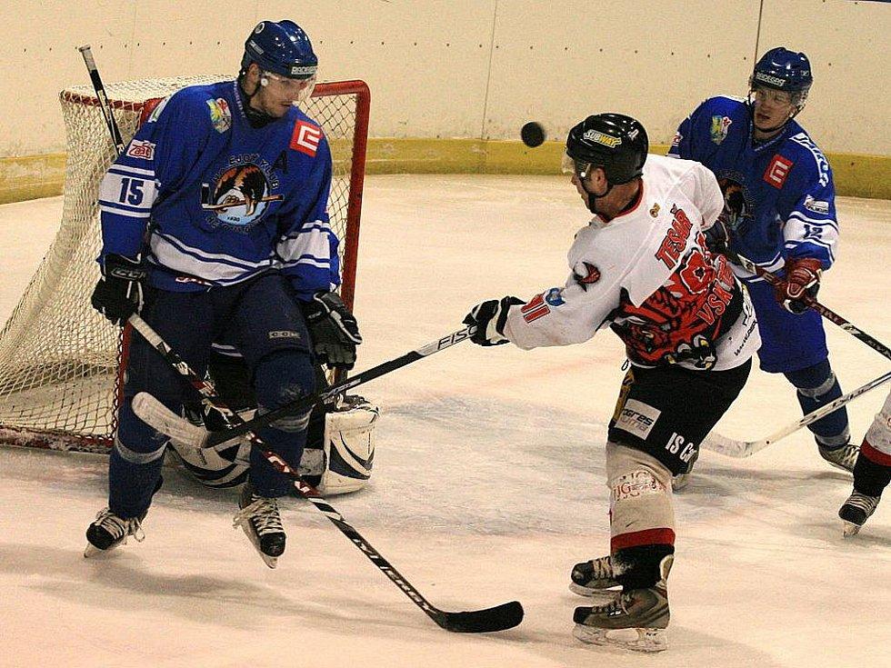 Hokejisté Techniky Blansko prohráli doma s Orlovou ve druhé lize 2:6. Tři kola před koncem základní části jsou v tabulce předposlední.