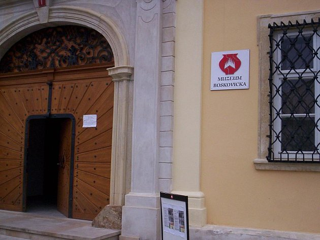 Muzeum Boskovicka - ilustrační foto.