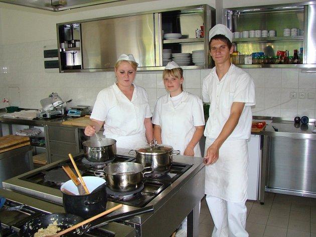 Žáci a studenti VASS Boskovice získavají ve škole kromě teoretických znalostí i praktické zkušenosti.