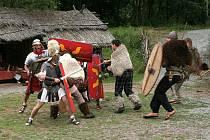 Osmý ročník siláckých her v Keltské osadě Insarno.