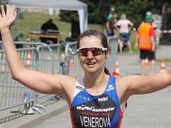 21. ročník Vysočanského triatlonu vyhráli Lenka Venerová a Josef Křivánek.