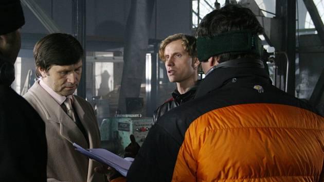 Televizní inscenaci s názvem Zrozen bez porodu v úterý natáčela Česká televize v Blansku