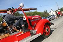 Ve Křtinách se konala třináctá hasičská pouť.