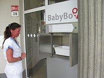 Babybox v boskovické nemocnici.