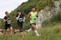 Na start Běhu Moravským krasem se postavilo rekordních pětasedmdesát závodníků.