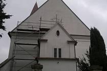 Kostel se po šestnácti letech dočká dalších oprav.