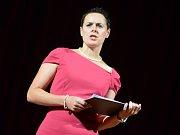 Literární večer s názvem Žena v množném čísle byl vyvrcholením Halasova Kunštátu.