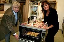 Prima natáčela v Klepačově pořad o vaření s Evou a Vaškem