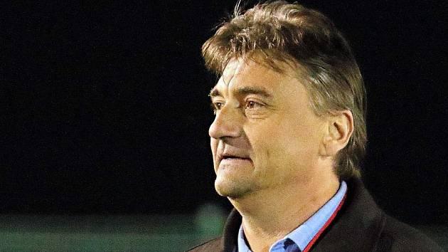 Petr Dolníček, trenér FC Pivovar Černá Hora Blanensko.