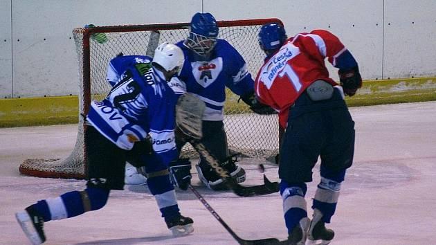 Hokejisté Sloupu porazili Adamov.