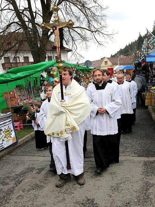 Sloup slavil svoji tradiční a největší pouť Květný pátek.