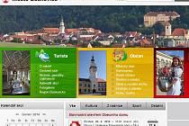 Zatím lidé informace o dění v Boskovicích získávají ze starého webu.
