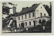 Historická pohlednice Letovic.