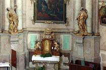 Perlou Křtin je barokní chrám Jména Panny Marie. Stavba, která se od roku 2008 řadí i mezi Národní kulturní památky, je vzácná nejen svou vnější podobou ale i vnitřním vybavením. Právě to se v budoucnosti vylepší. Jak uvedl křtinský farář Jan Peňáz, místn