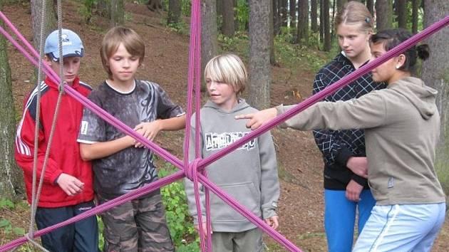 Dvoudenní seznamovací výjezd v Češkovicích pro žáky 6. ročníku