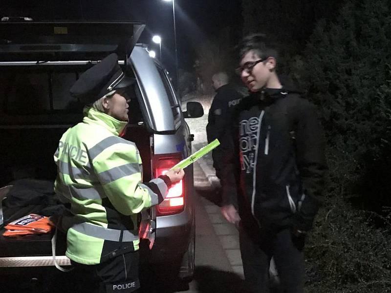 Policisté na Blanensku se zaměřovali na bezpečnostní prvky chodců.