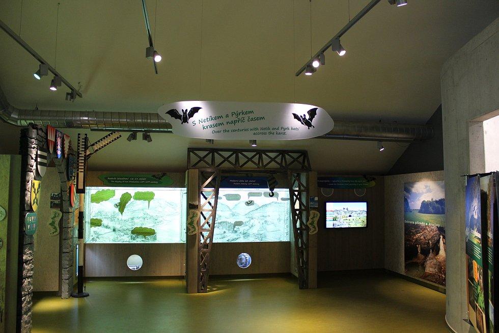 První patro Domu přírody se zabývá současností chráněného území