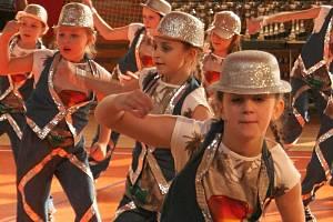 Taneční soutěž v Kunštátě. Archivní snímek.