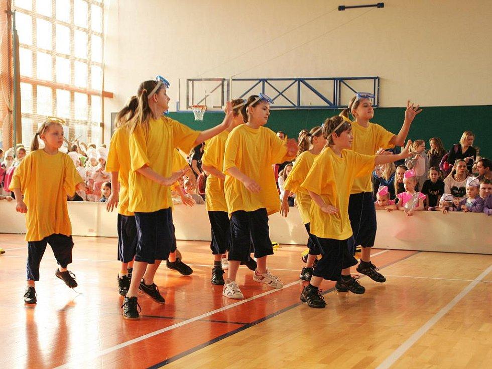 Taneční soutěž v Kunštátě.