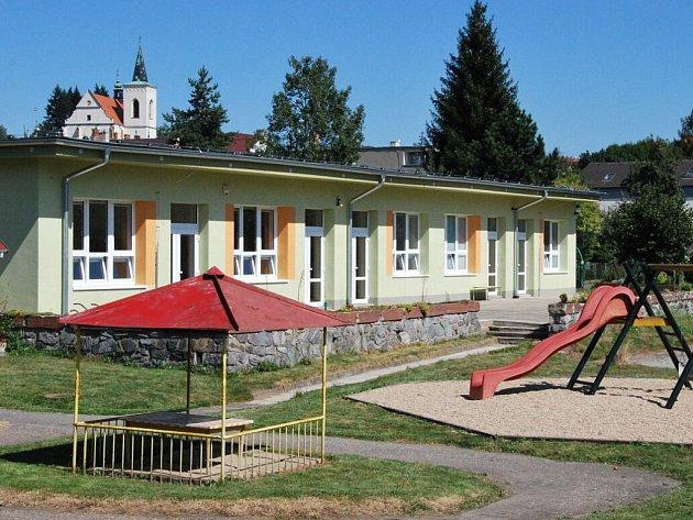 Opravená mateřská školka v Letovicích