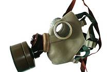 Plynová maska. Ilustrační foto