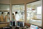 Jednotka intenzivní péče v blanenské nemocnici.