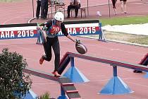 Aneta Tichá z SDH Petrovice skončila v republikovém finále v kategorii střední dorostenky osmá.