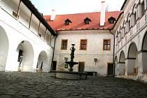Zámek v Blansku - ilustrační fotografie.
