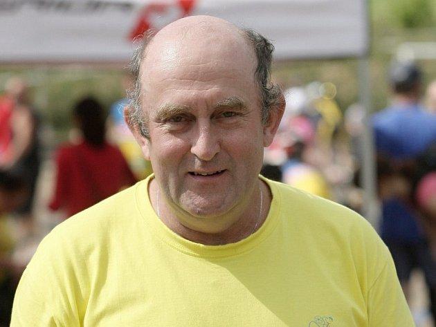 Ředitel seriálu závodů Poháru Drahanské vrchoviny horských kol Petr Koudelka.