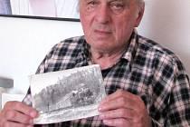 Dvaaosmdesátiletý Vladimír Barták dvacet let řídil jednu z parních lokomotiv.