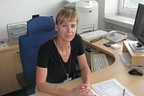 Nová ředitelka blanenské nemocnice Vladimíra Danihelková.