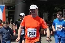 Miroslav Dittrych při pražském maratonu.
