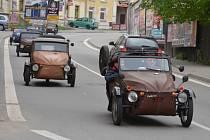 Devatenáctý Jarní sraz Velorexů se v neděli konal v Boskovicích.