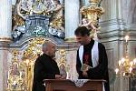 Děkan Prnka a farář Kopecký