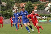 Boskovičtí fotbalisté se v neděli rozloučili s domácím publikem remízou 1:1 se Slovanem Brno. Příští sezonu už diváci přijdou na krajský přebor.