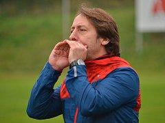 Trenér blanenských fotbalistů Michal Kugler.