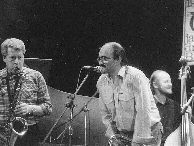 7. Blanenské jazzové dny v roce 1988, Ladislav Gerendáš.
