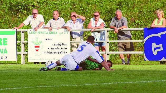 Rájec neudržel stav 1:1 a Líšeň si odvezla vítězství. Na zápas se přišla podívat solidní divácká návštěva.