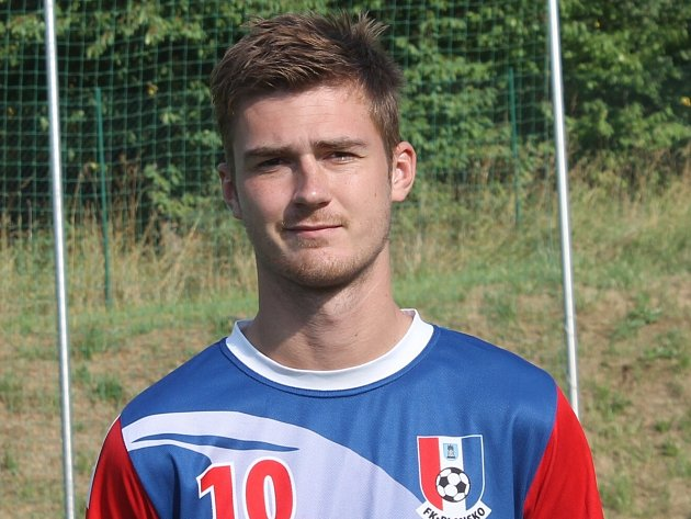 Útočník Blanska Jan Trtílek vstřelil v zápase s Přerovem všechny tři góly.