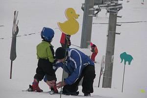 Ski areál v Olešníci - ilustrační foto.