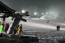 Olešnice zažila první lyžařský víkend.