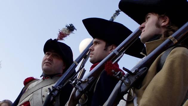 Francouzská a císařská vojska se se svými spojenci utkali o tamní vinný sklep