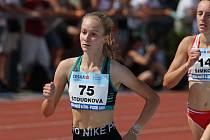 Pavla Štoudková si v Plzni doběhla pro třetí místo na trati  1500 metrů.
