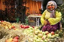 Jablíčková babička.