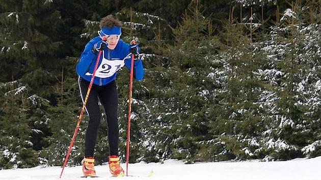 Radek Kalina (foto) byl po sedmnácti kilometrech v cíli o pouhou vteřinu rychleji než Jaromír Kuda