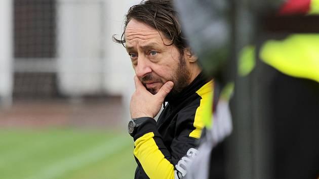 Trenér FC Slovan Rosice Michal Kugler.
