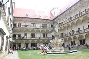 Bučovický zámek, na který si dělají nárok Lichtenštejnové.